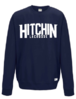 Hitchin Navy Unisex Big Logo Sweatshirts