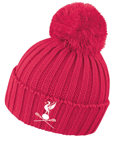 Liverpool City Lacrosse Womens Knitted Hat