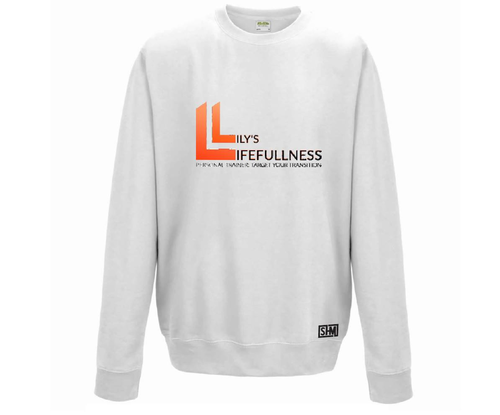 Lilys Lifefullness White Sweatshirt