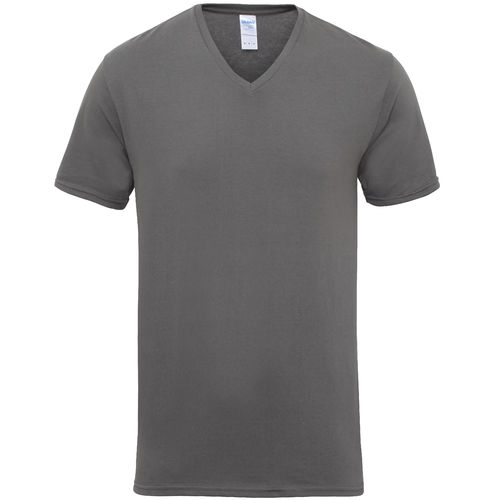 Cotton V Neck Tee