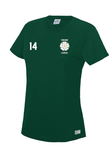 Yorkshire Lacrosse Womens Performance Tee