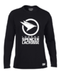 Spencer Lacrosse Mens Black Longsleeved Performance Tee