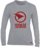 Spencer Lacrosse Mens Grey Longsleeved Performance Tee
