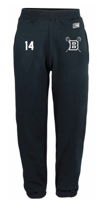 Blues Lacrosse Mens Sweatpants (All Embroidery)