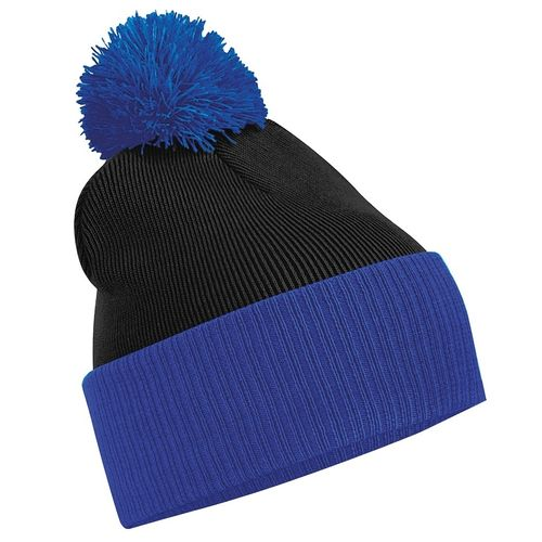 Blues Lacrosse Beanie (With Logo On Front) (All Embroidery)