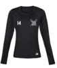 Blues Lacrosse Black Womens Baselayer