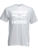 Cheltenham Lacrosse Mens Heather Grey Cotton Tee