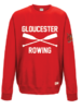Gloucester Rowing Womens Red Sweatshirt