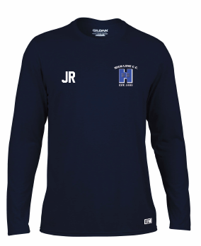 High Lane CC Childrens Navy Long Sleeved Performance Tee