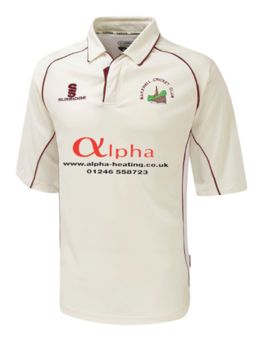 Bakewell Cricket Club 3/4 Sleeve Shirt