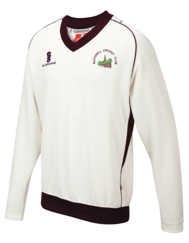 Bakewell Cricket Club Curve Long Sleeve Sweater