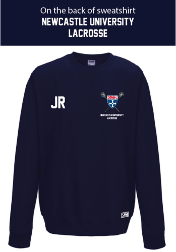 Newcastle University Lacrosse Sweatshirt