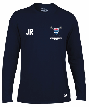 Newcastle University Lacrosse Longsleeved Performance Tee