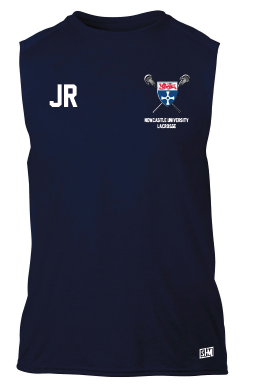 Newcastle University Lacrosse Sleeveless Performance Tee