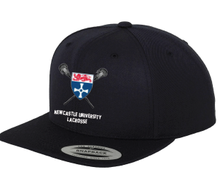 Newcastle University lacrosse Snapback