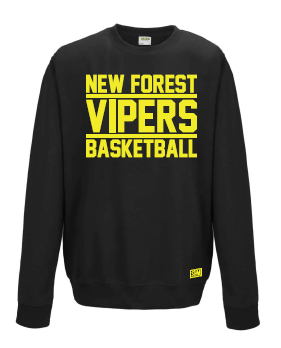 New Forest Vipers Black Sweatshirt