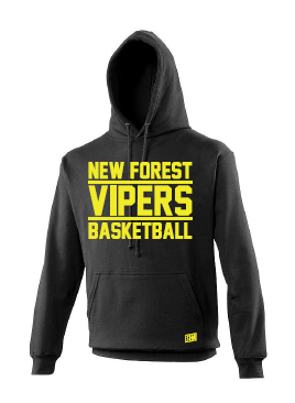 New Forest Vipers Black Childrens Hoody