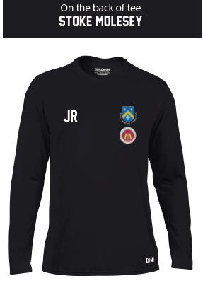 Stoke Molesey Ladies Black Long Sleeved Performance Tee
