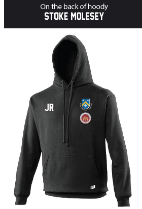 Stoke Molesey Ladies Black Hoody