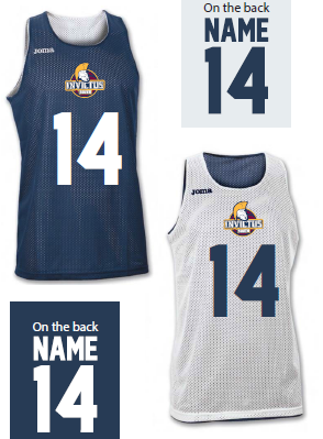 South Girls Invictus Childrens Reversible Pinnie