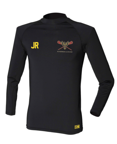 Rotherham Lacrosse Mens Black Baselayer