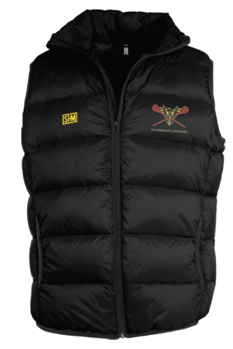 Rotherham Lacrosse Mens Black Body Warmer