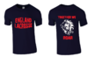 England Womens Lacrosse Navy Blue Cotton Tee