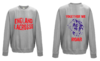 England Womens Lacrosse Heather Grey Sweatshirt