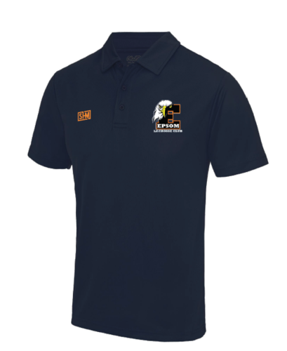 Epsom Lacrosse Mens Performance Polo