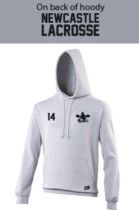 Newcastle Knights Mens Heather Grey Hoody