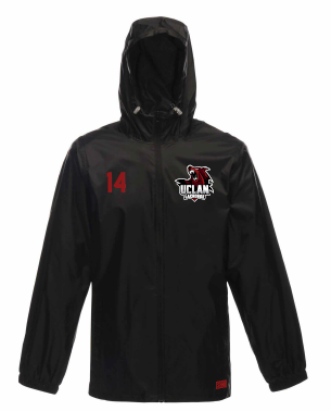 UCLan Lacrosse Unisex Black Waterproof