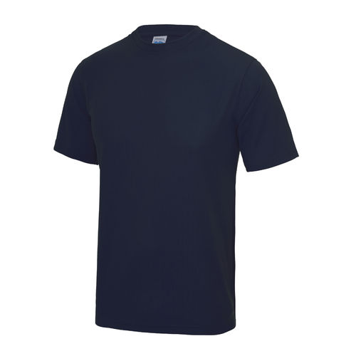 Trent Lacrosse Navy Unisex Performance Tee (Same Design As Grey But With White Text)