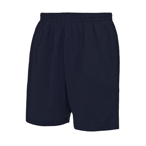 Trent Lacrosse Navy Unisex Shorts (Same As Grey Design With White Text)
