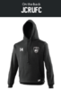 James College Black Mens Hoody