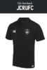 James College Mens Black Performance Polo