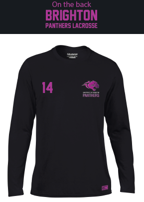 Brighton Panthers Mens Black Long Sleeved Performance Tee