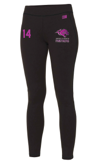 Brighton Panthers Womens Black Leggings