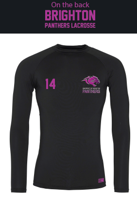 Brighton Panthers Mens Black Baselayer