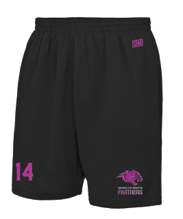 Brighton Panthers Mens Black Shorts
