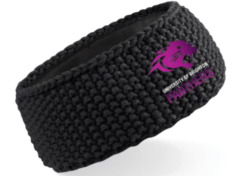 Brighton Panthers Black Headband