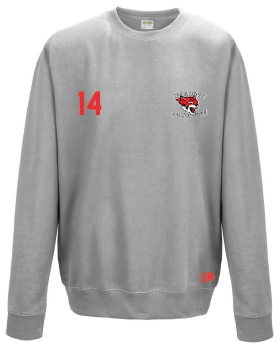 Reading Wildcats Heather Grey Unisex Sweatshirt