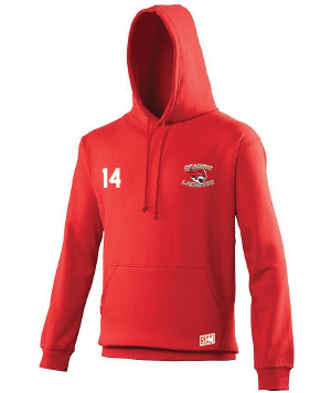 Reading Wildcats Red Mens Hoody