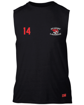 Reading Wildcats Black Unisex Performance Vest