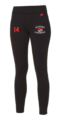 Reading Wildcats Black Womens Leggings