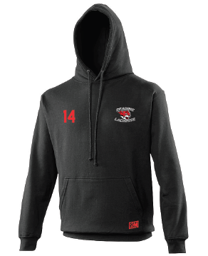 Reading Wildcats Black Womens Hoody