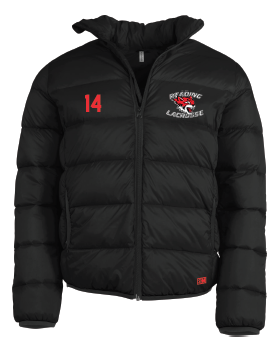 Reading Wildcats Black Womens Puffa