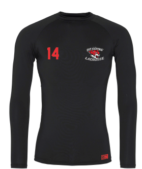 Reading Wildcats Black Womens Baselayer