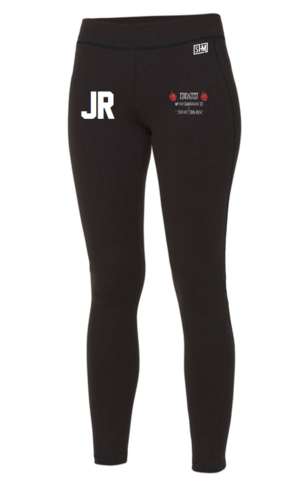DMU Swim & Tri Black Womens Leggings