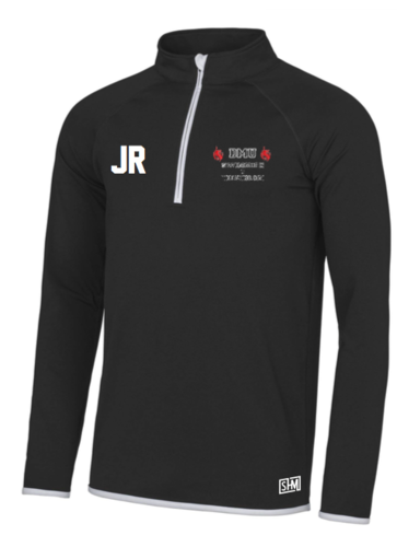 DMU Swim & Tri Mens Black Performance Sweatshirt