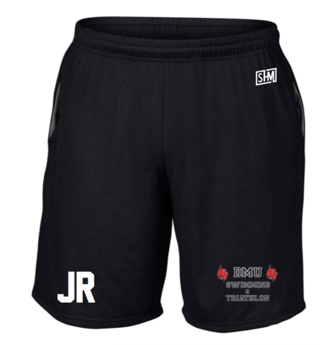 DMU Swim & Tri Black Mens Shorts
